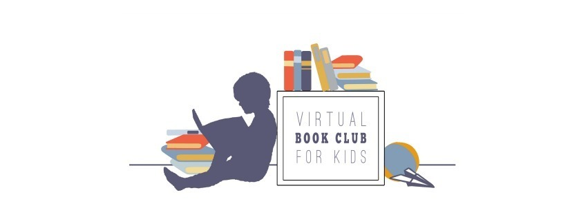 Logo for the Online Virtual Book Club for Kids with Hands-on Weekly activities and extension packs for Preschoolers