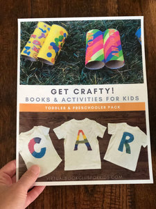 Get Creative Activity Pack for Kids from 2 to 20 year olds from The Virtual Book Club for Kids