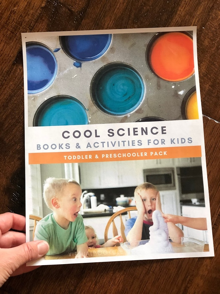 science week activity pack from 2 - 10 year olds