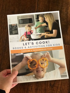 Let's cook! An Activity Pack for kids from the Virtual BooK Club for Kids