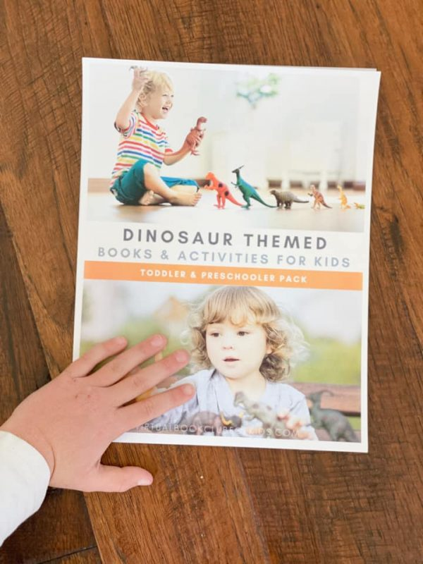 Virtual Book Club for Kids Spring Camp 2020 Dinosaur Theme